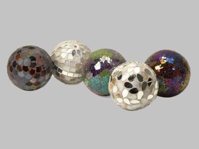Abbot Mosaic Deco Balls Set 5