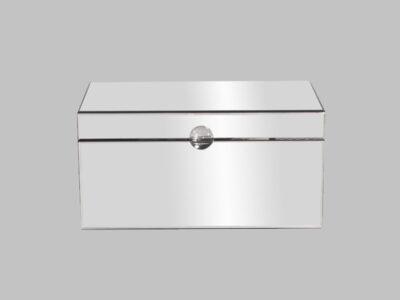 Clear Mirrored Decorative Box*