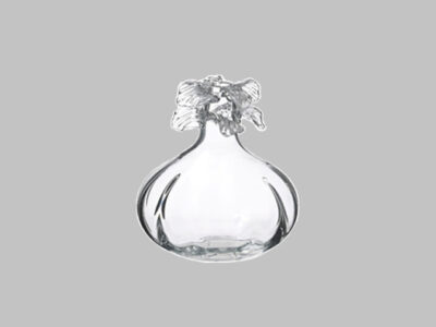 Glass Vase Clear 9″