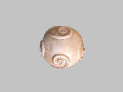 Pelota Ivory Swirl Antique Ball-26-4