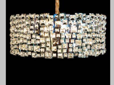 Lampara De Techo Diamantes 9 Luces