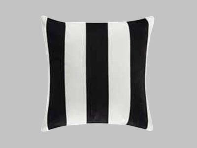 Cojín Decorativo Black Stripes