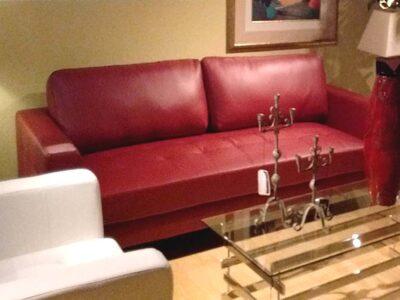 Sofa Mariel Rojo Nuevo