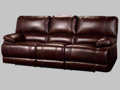 Sofa Reclinable c/ Power Wyoming Chestnut *