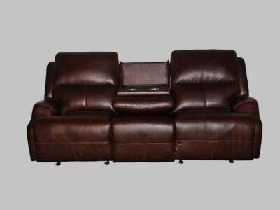 Sofa Reclinable c/ Power Cayenne Dove
