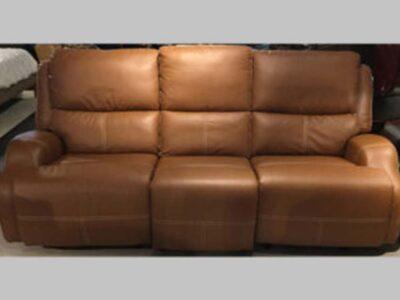 Sofa Reclinable c/ Power Cayenne Tan