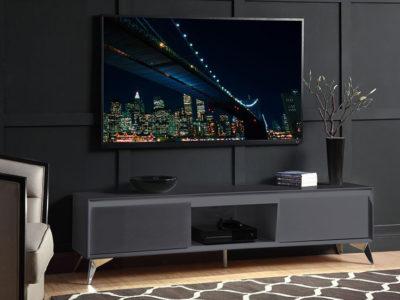 Mesa P/Tv 60″ Raceloma gris