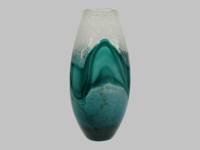 Glass Vase green mix